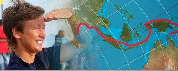 Kayaking the world seas