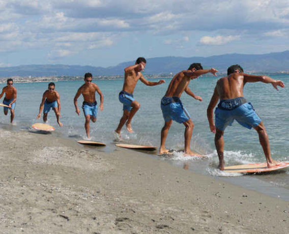 Adventure in water sports