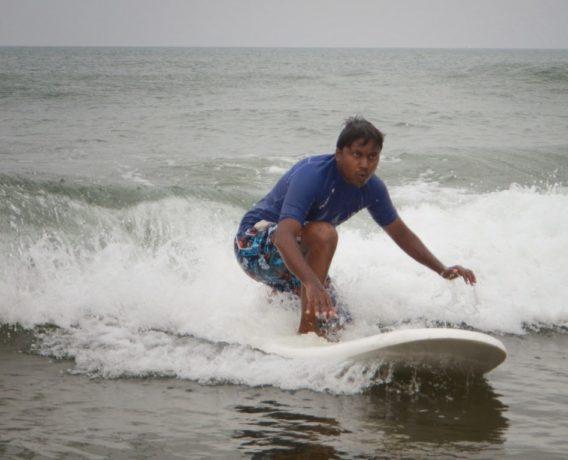 Surfer Hitesh Kumar