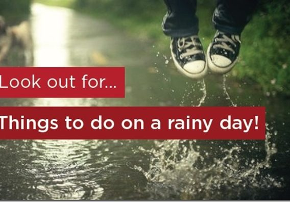Fun Things to Do on a Rainy Day